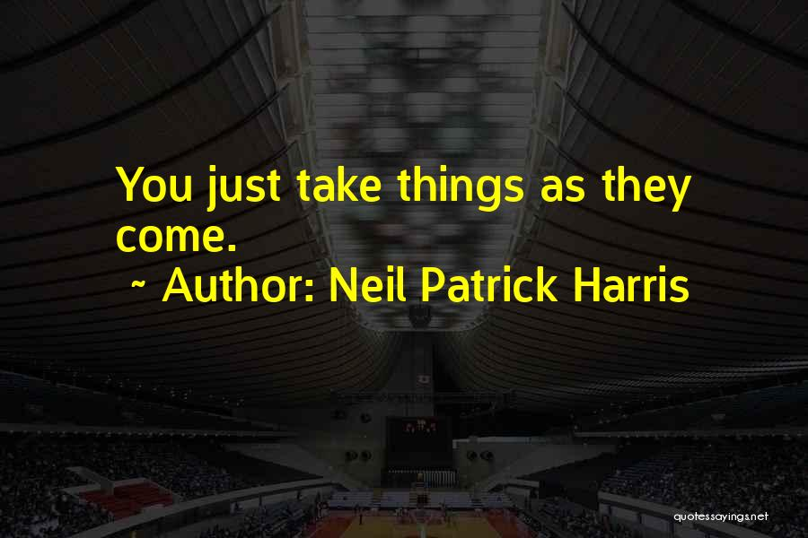 Neil Patrick Harris Quotes 352777