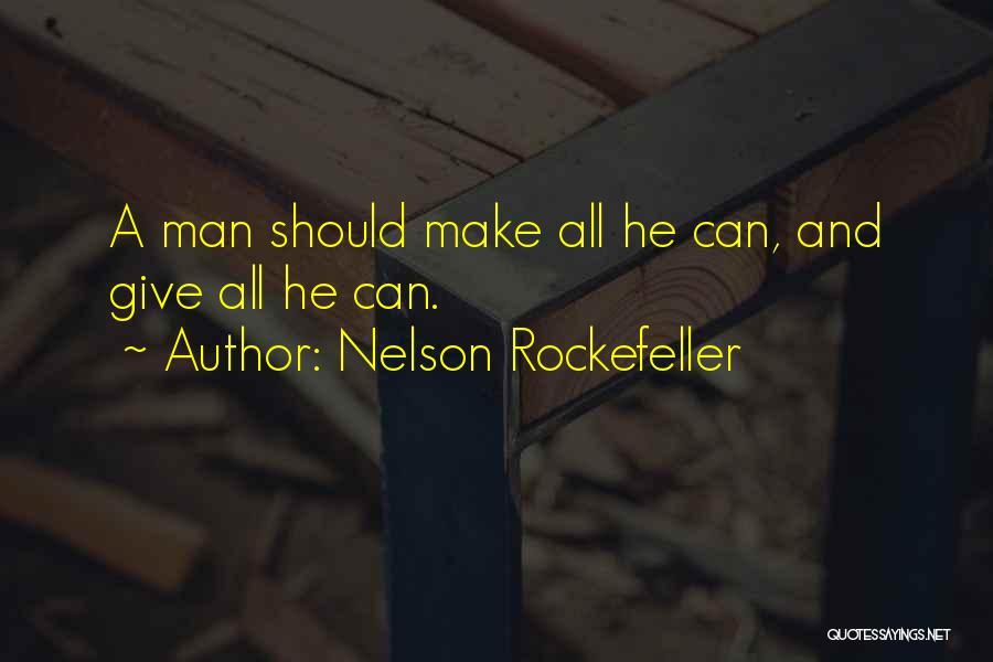 Nelson Rockefeller Quotes 1154437