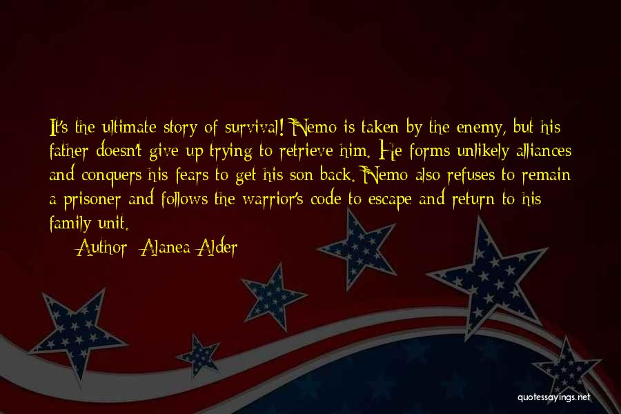 Nemo's Quotes By Alanea Alder