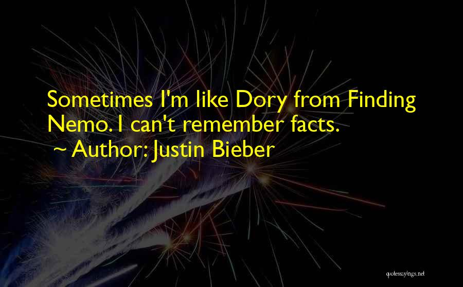 Nemo's Quotes By Justin Bieber