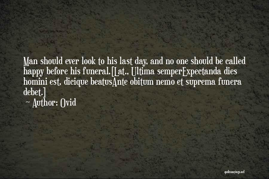 Nemo's Quotes By Ovid