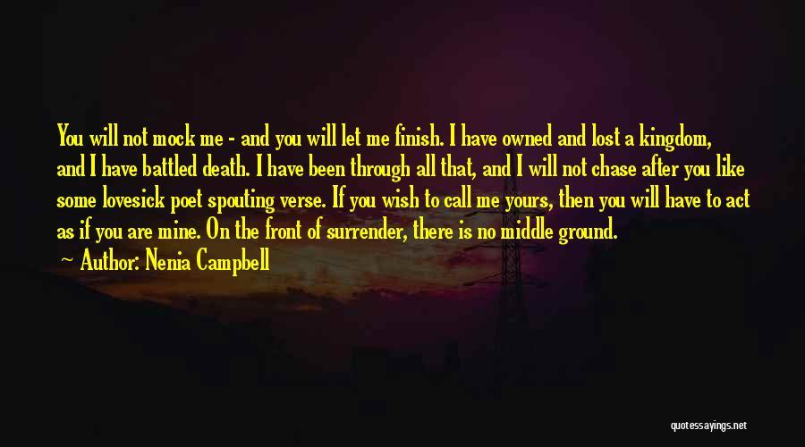 Nenia Campbell Quotes 2171696