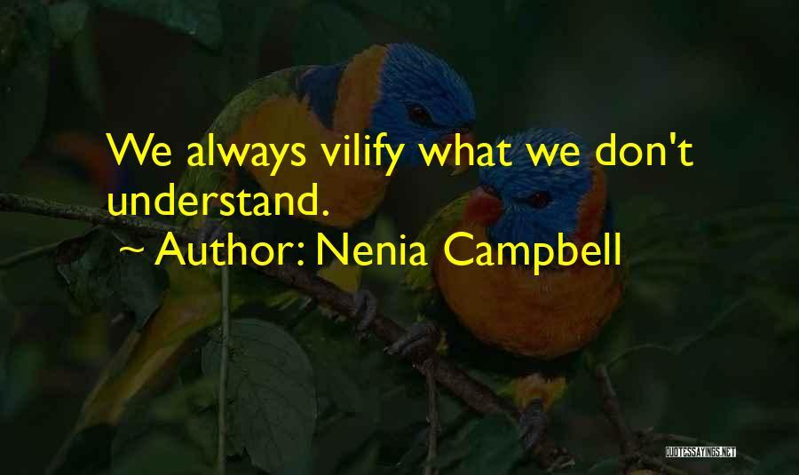 Nenia Campbell Quotes 383104