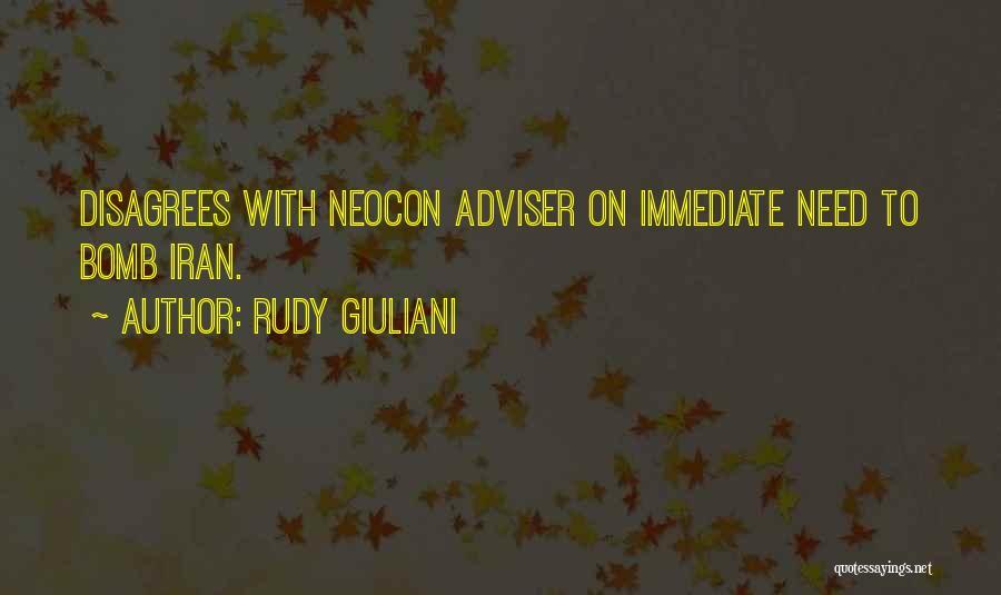 Neocon Quotes By Rudy Giuliani