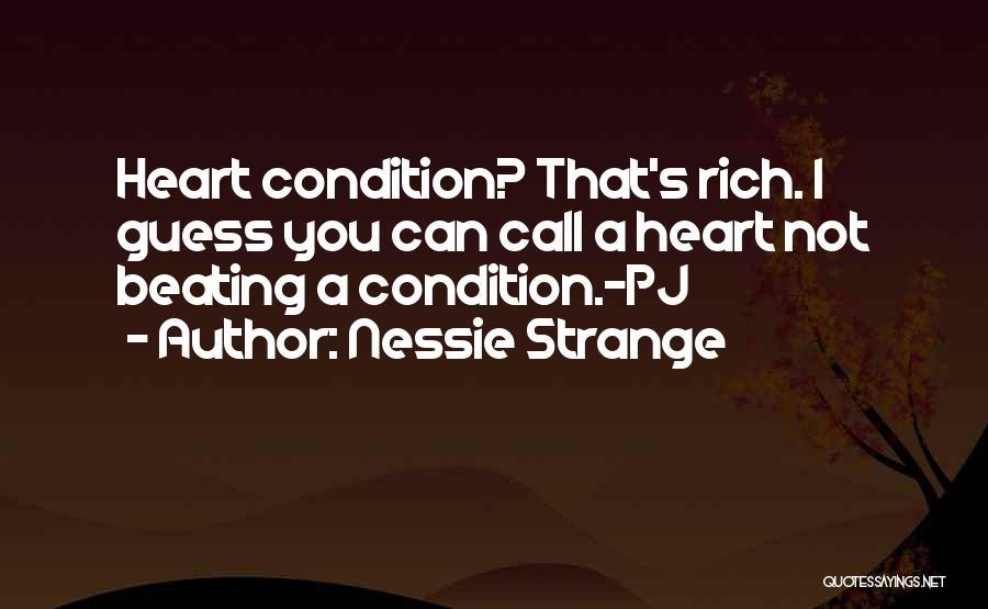 Nessie Strange Quotes 2128416