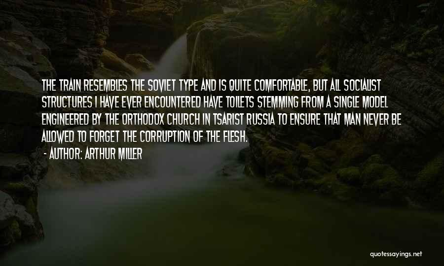 Never Be Comfortable Quotes By Arthur Miller