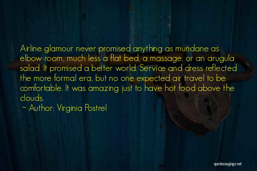 Never Be Comfortable Quotes By Virginia Postrel