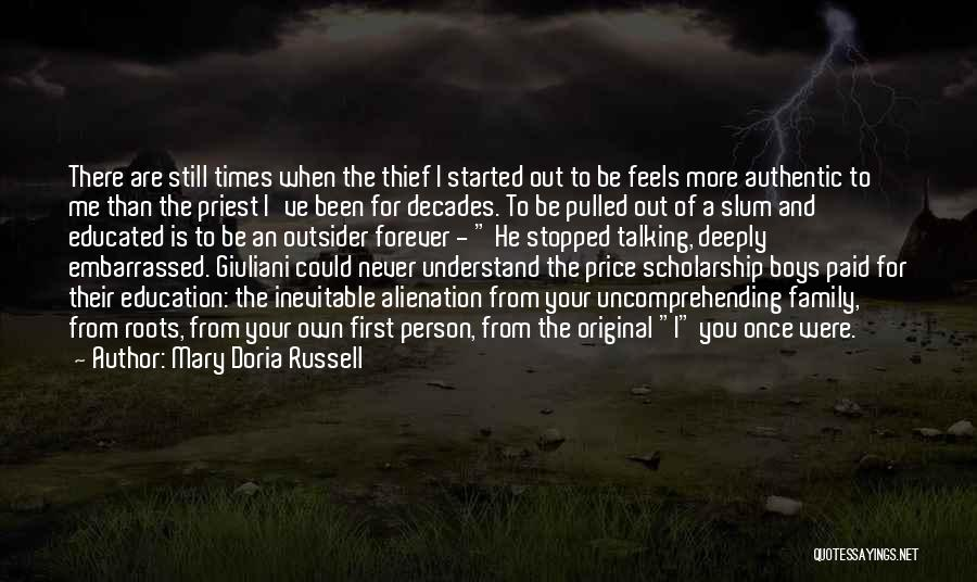 Never Be Embarrassed Quotes By Mary Doria Russell