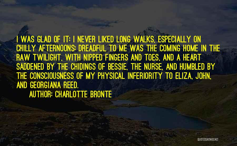 Never Coming Home Quotes By Charlotte Bronte