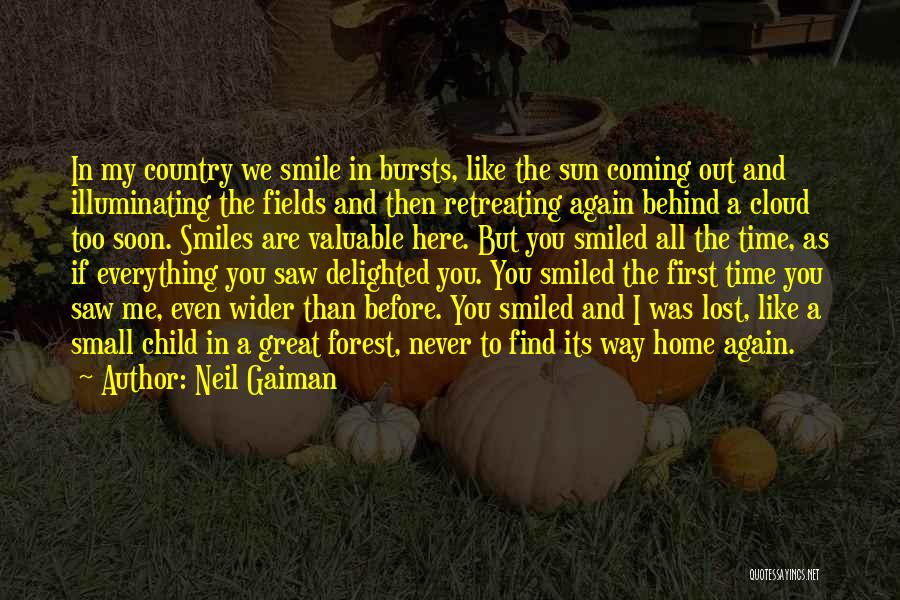 Never Coming Home Quotes By Neil Gaiman