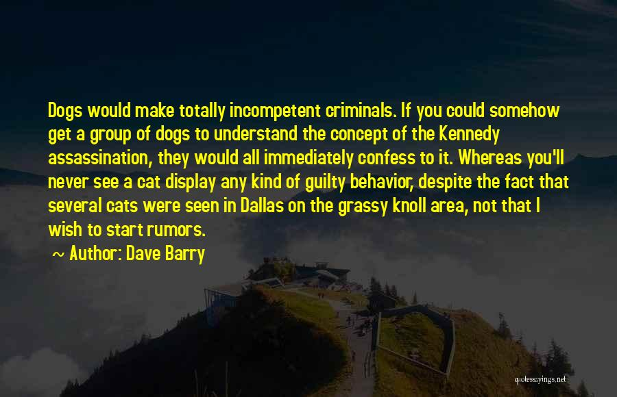 Never Confess Quotes By Dave Barry