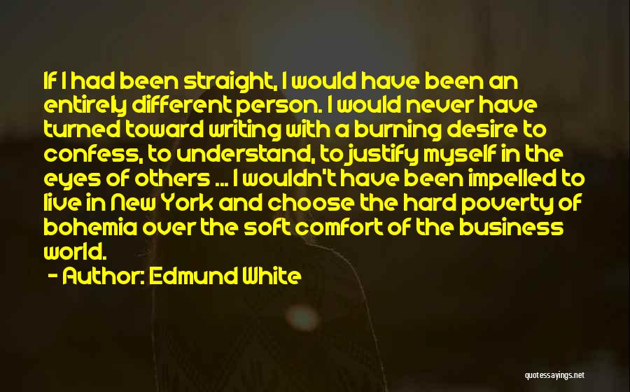 Never Confess Quotes By Edmund White