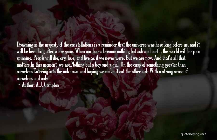 Never Die Love Quotes By A.J. Compton