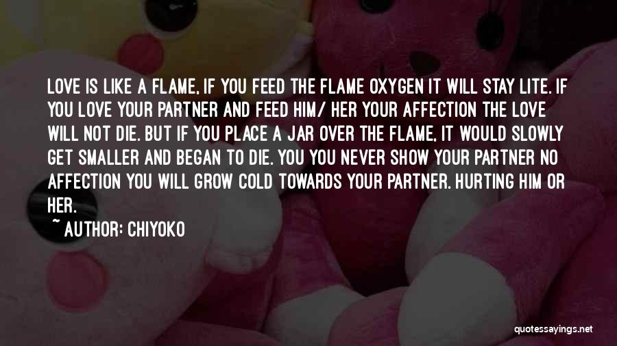 Never Die Love Quotes By Chiyoko