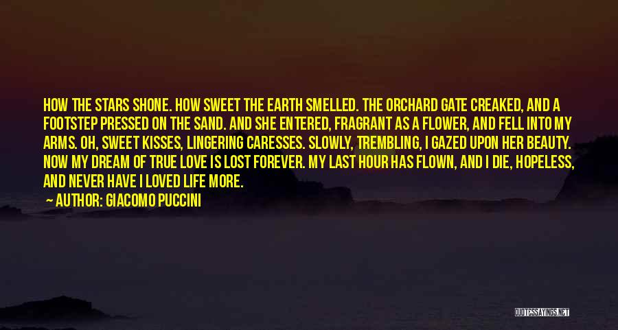 Never Die Love Quotes By Giacomo Puccini