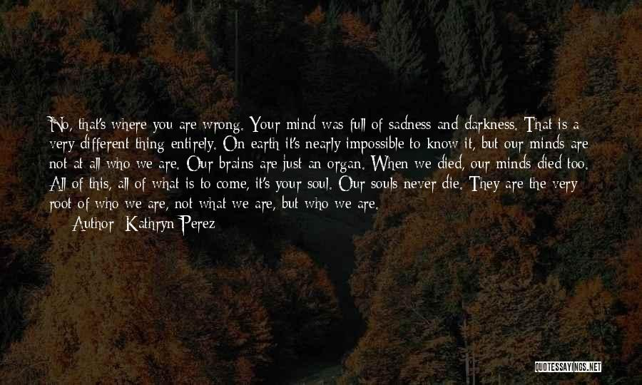 Never Die Love Quotes By Kathryn Perez