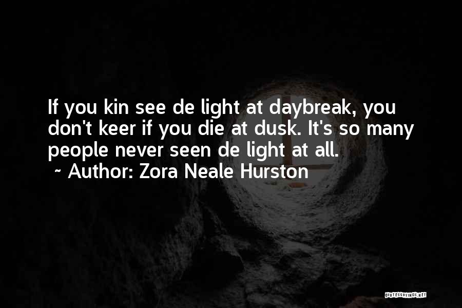 Never Die Love Quotes By Zora Neale Hurston