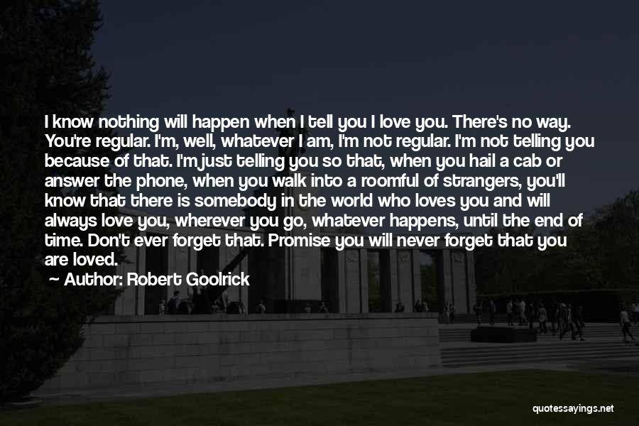 Never Ever Forget You Quotes By Robert Goolrick