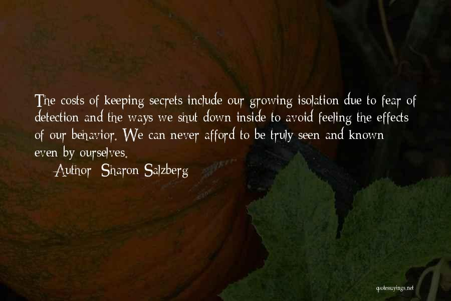 Never Fear Love Quotes By Sharon Salzberg