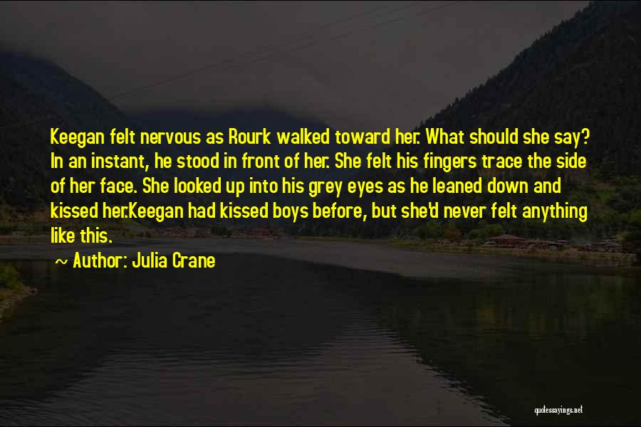 Never Felt Like This Before Quotes By Julia Crane