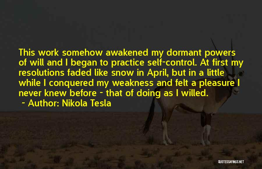Never Felt Like This Before Quotes By Nikola Tesla