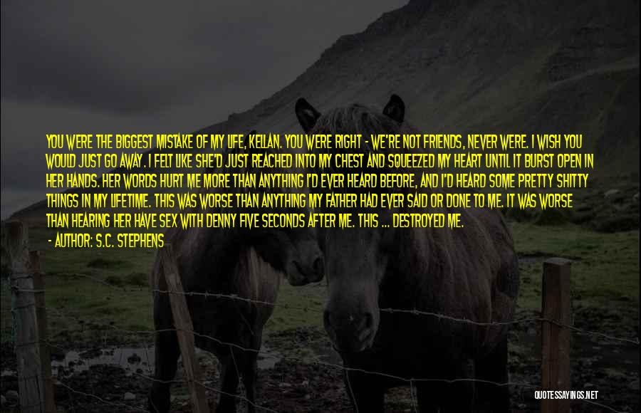 Never Felt Like This Before Quotes By S.C. Stephens