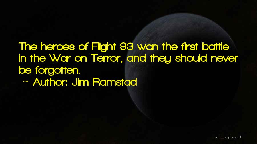 Never Forgotten 9/11 Quotes By Jim Ramstad