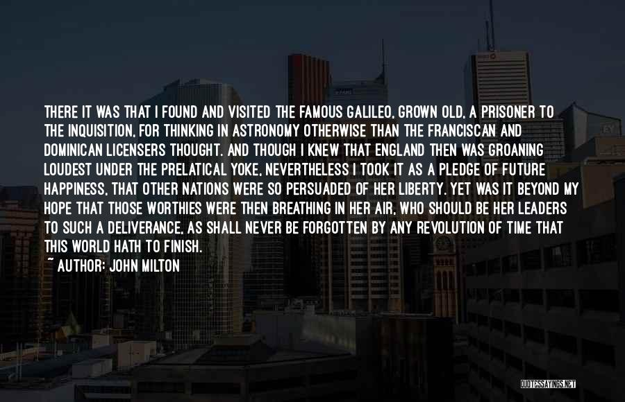 Never Forgotten 9/11 Quotes By John Milton