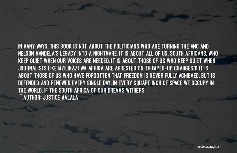 Never Forgotten 9/11 Quotes By Justice Malala