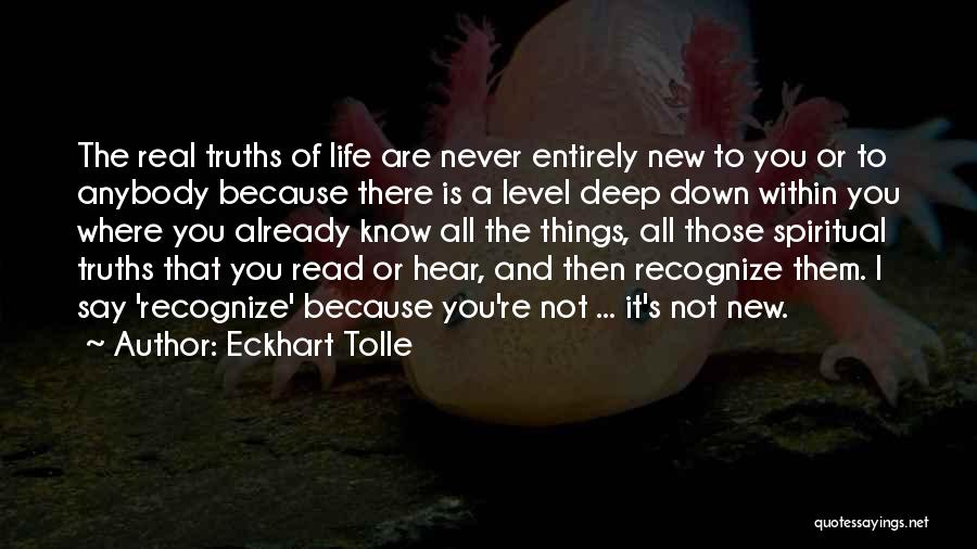 Never Go Down To Their Level Quotes By Eckhart Tolle