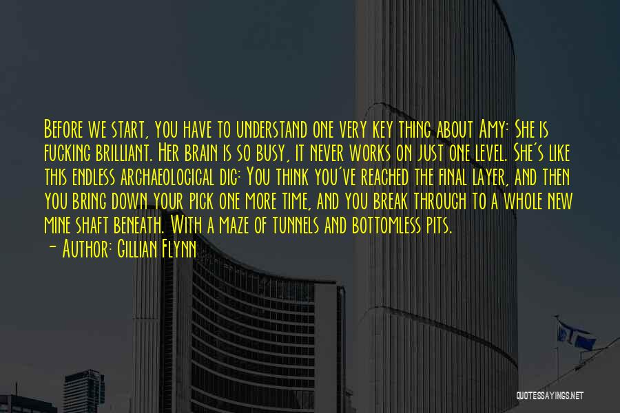 Never Go Down To Their Level Quotes By Gillian Flynn