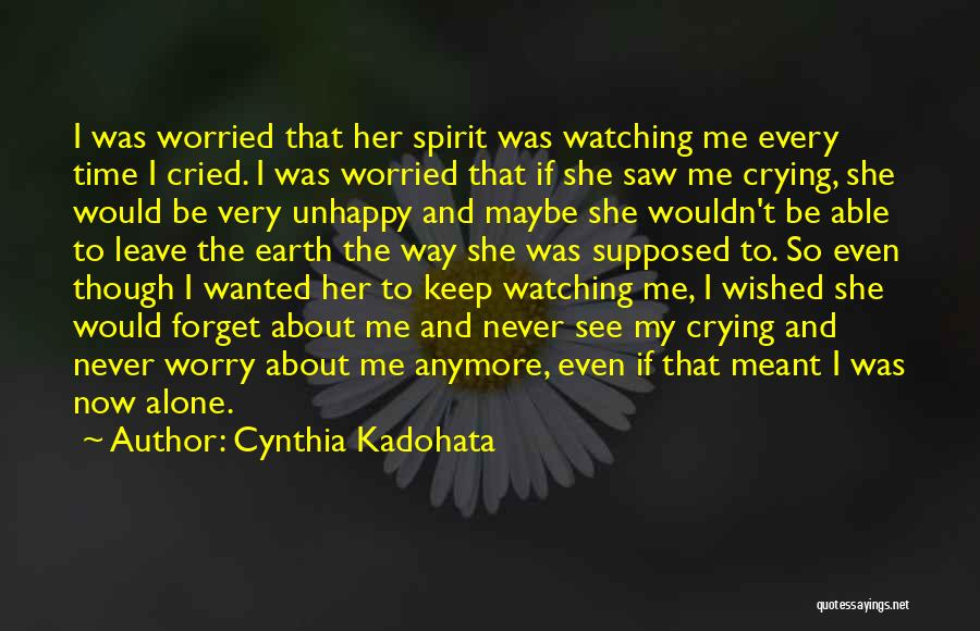 Never Leave Quotes By Cynthia Kadohata