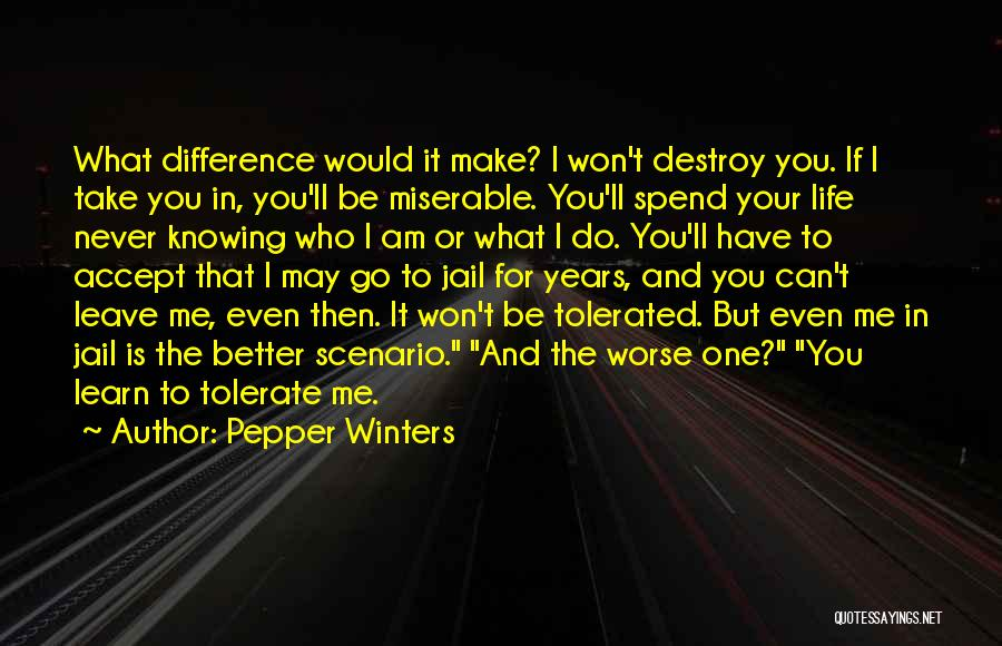 Never Leave Quotes By Pepper Winters
