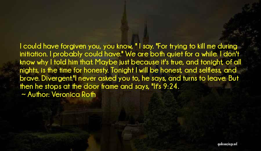 Never Leave Quotes By Veronica Roth