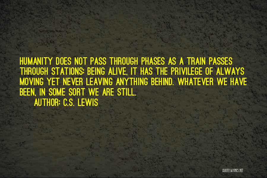 Never Leaving Love Quotes By C.S. Lewis