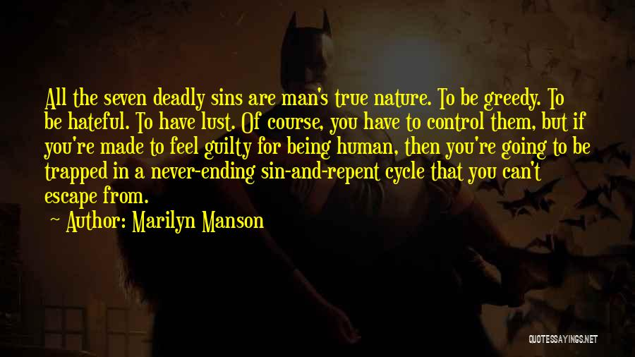 Never Let A Man Control You Quotes By Marilyn Manson