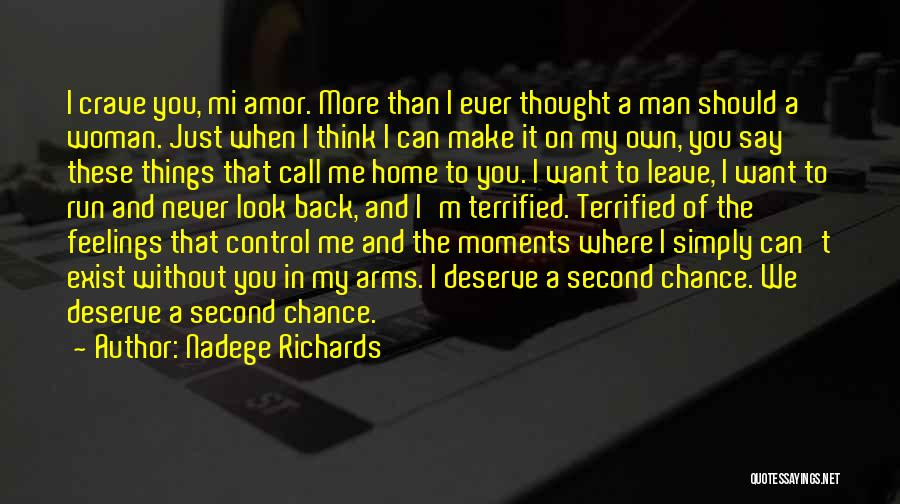 Never Let A Man Control You Quotes By Nadege Richards