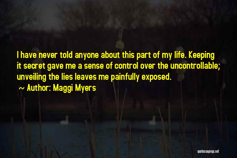 Never Let Anyone Control You Quotes By Maggi Myers