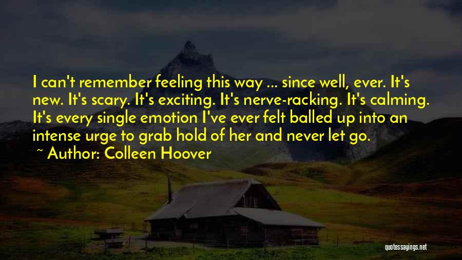 Never Let Her Go Quotes By Colleen Hoover