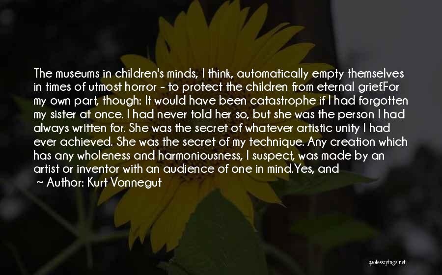 Never Let Her Go Quotes By Kurt Vonnegut