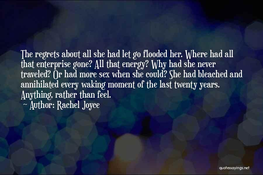 Never Let Her Go Quotes By Rachel Joyce