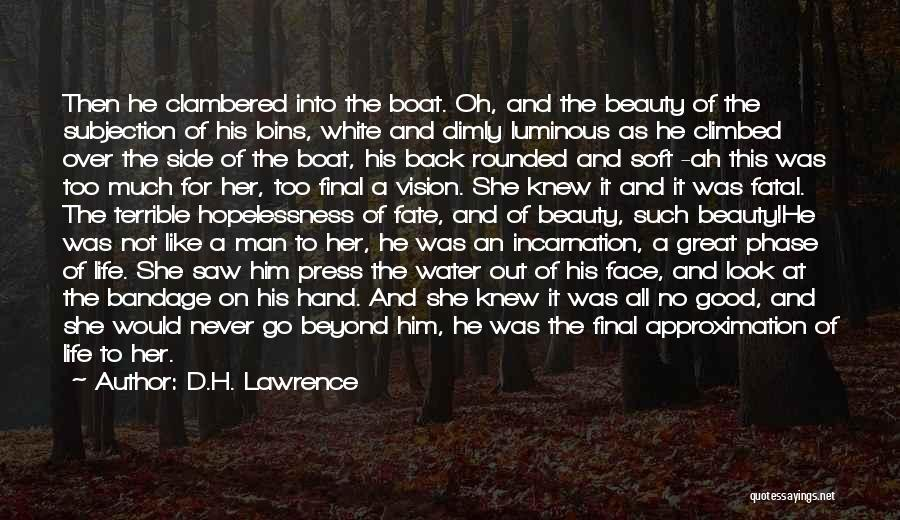 Never Look For Beauty Quotes By D.H. Lawrence