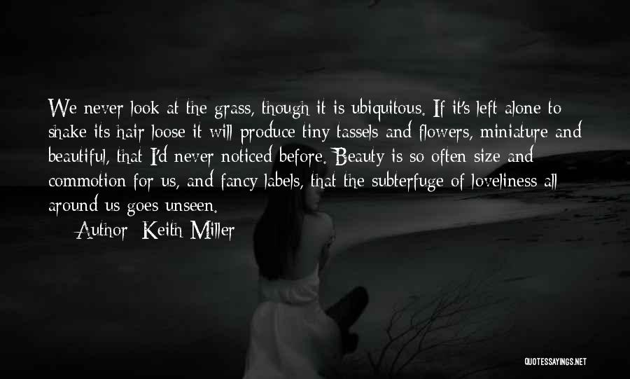 Never Look For Beauty Quotes By Keith Miller