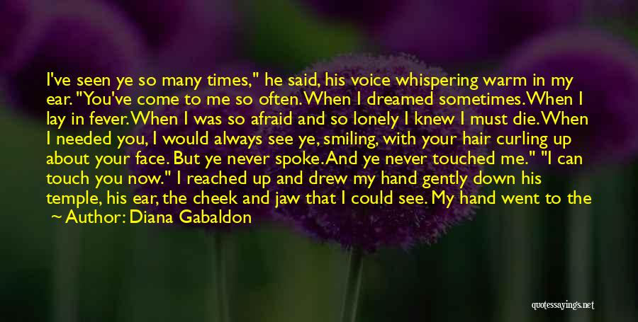 Never Seen Love Quotes By Diana Gabaldon