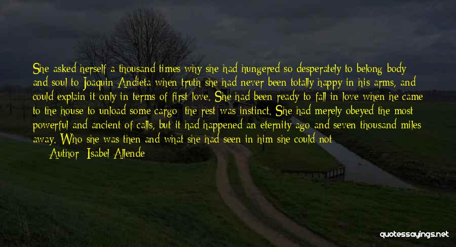 Never Seen Love Quotes By Isabel Allende