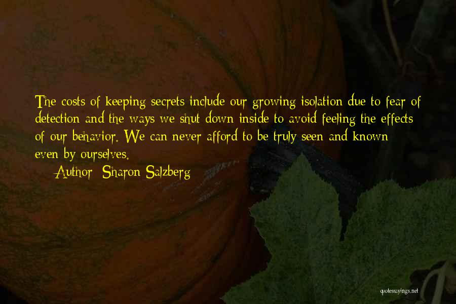 Never Seen Love Quotes By Sharon Salzberg