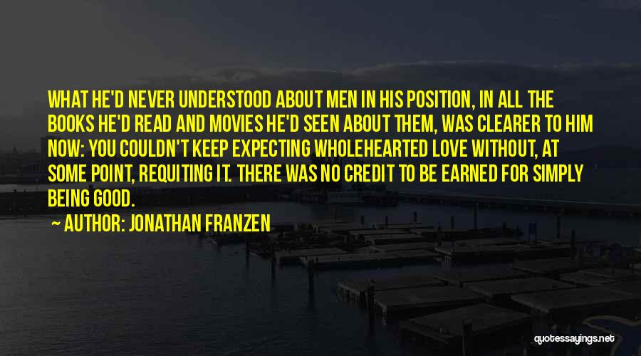 Never To Be Love Quotes By Jonathan Franzen