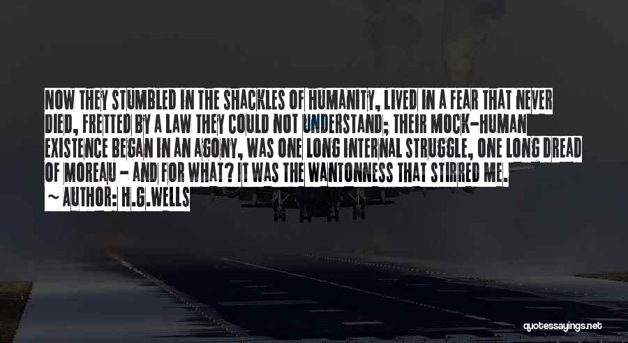 Never Understand Me Quotes By H.G.Wells