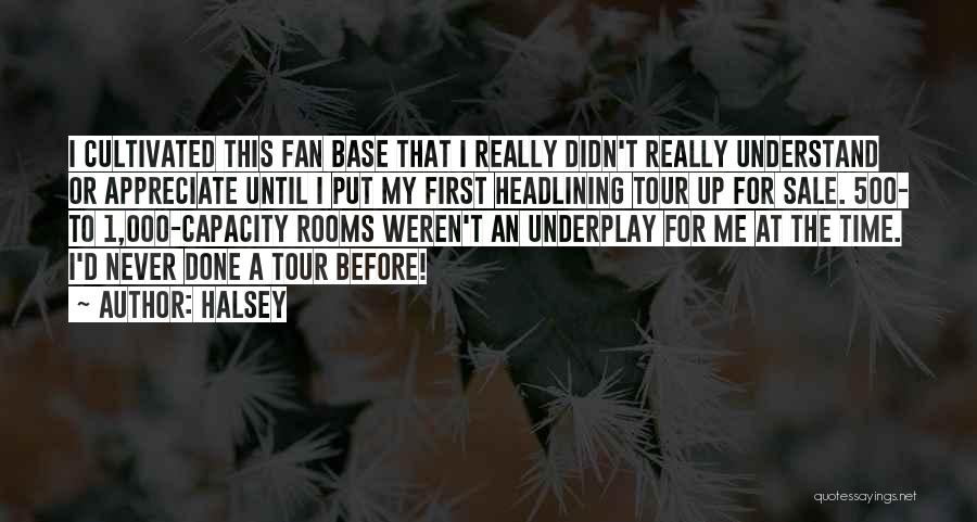 Never Understand Me Quotes By Halsey