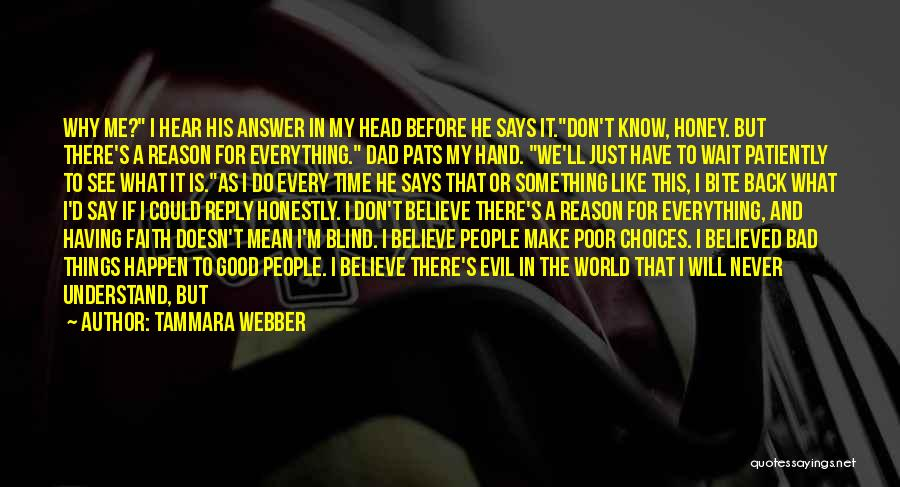 Never Understand Me Quotes By Tammara Webber